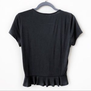 Francesca's Collections Tops - NWOT Thelma Cinched Front Knot Top Francesca's XS